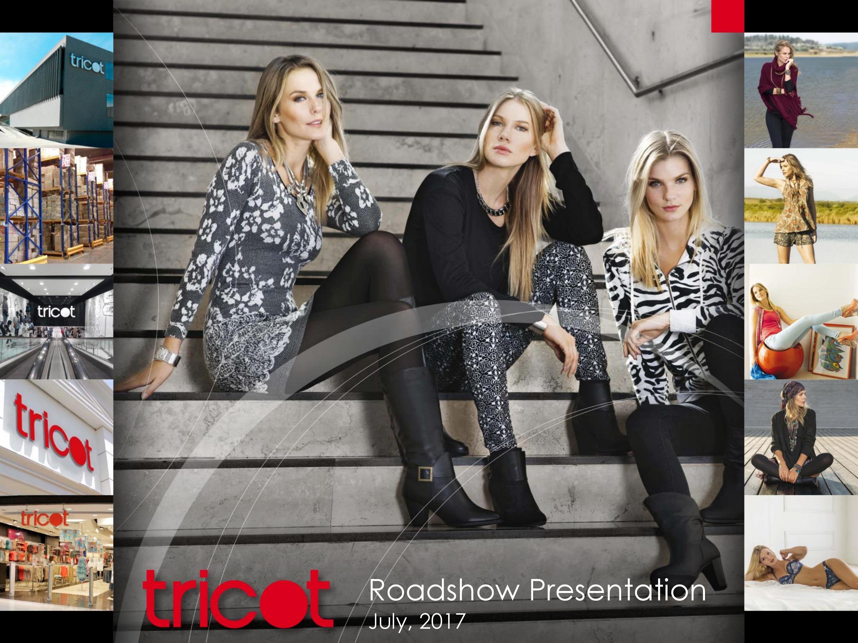 Presentación Roadshow Tricot