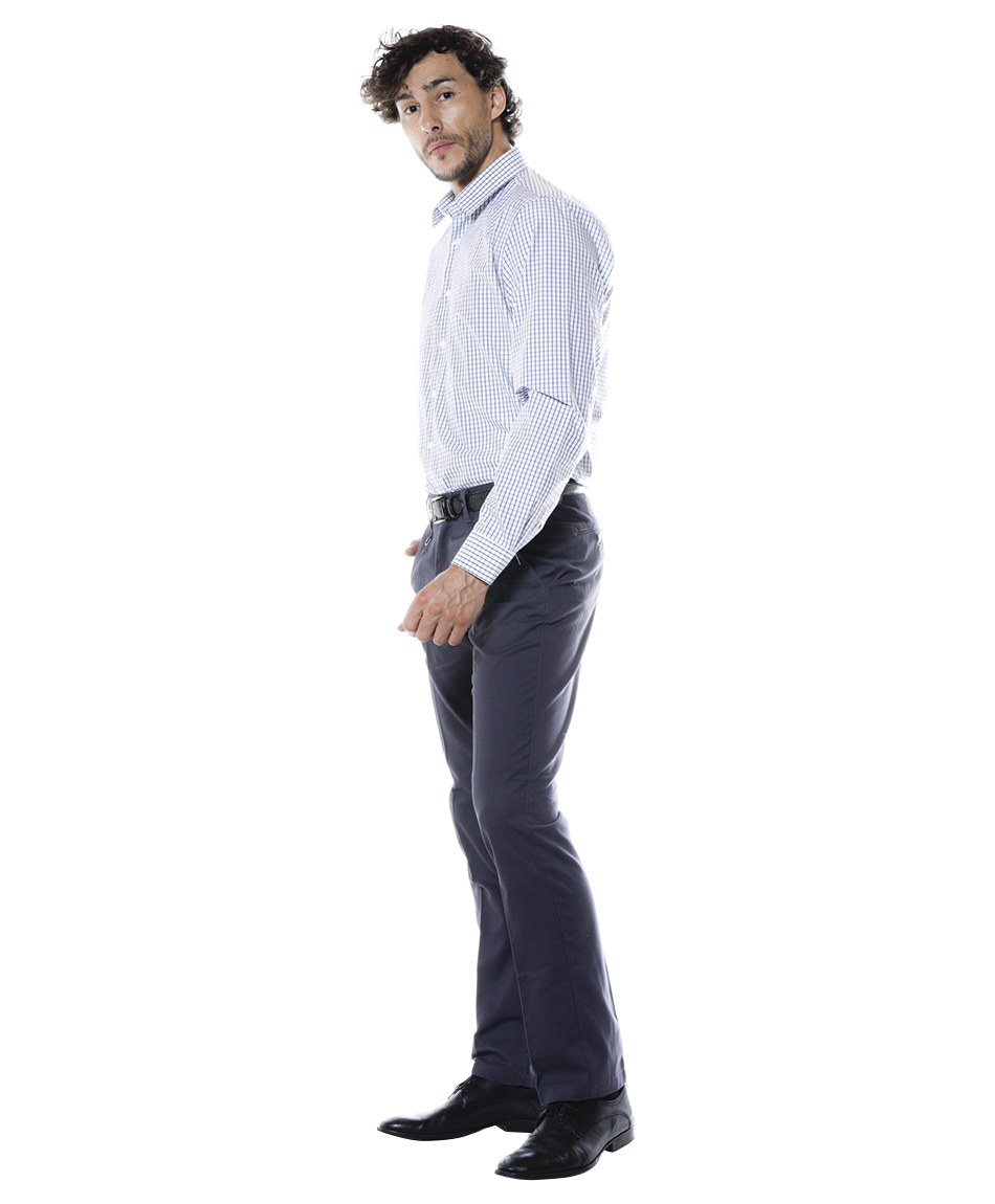PANT TWILL GRIS