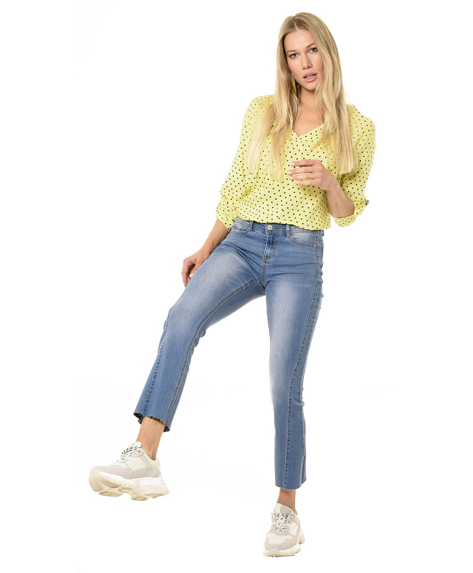 JEANS FLARE PUSH UP
