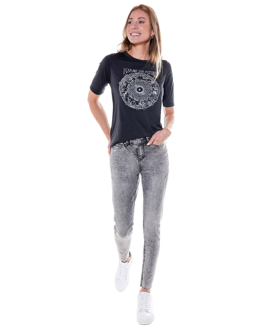 JEANS TAPE STRASS