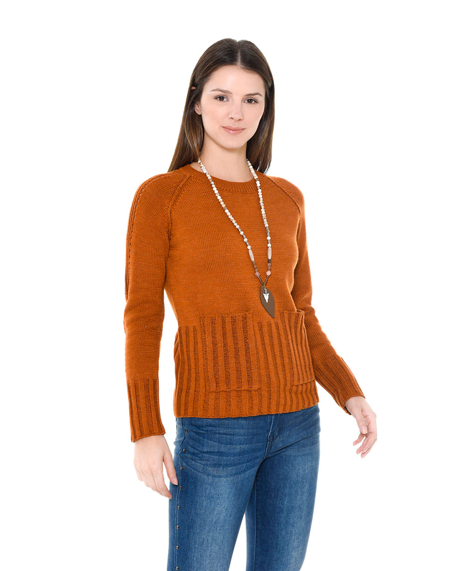 SWEATER CON BOLSILLOS