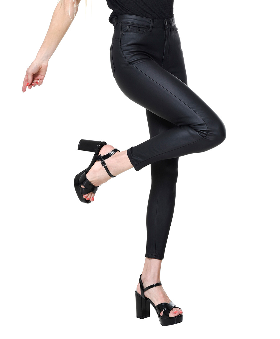 JEANS LATEX BLACK