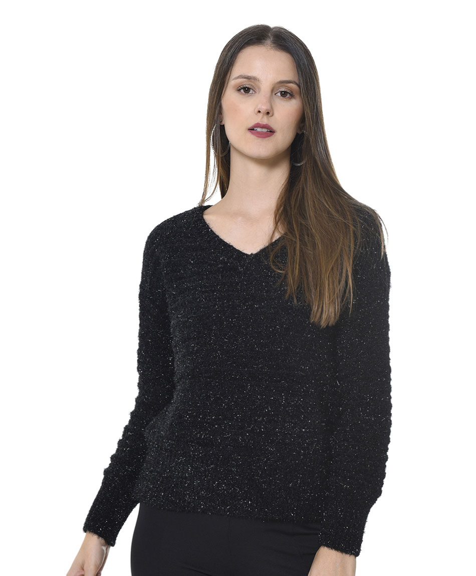 SWEATER CHENILLE FANCY