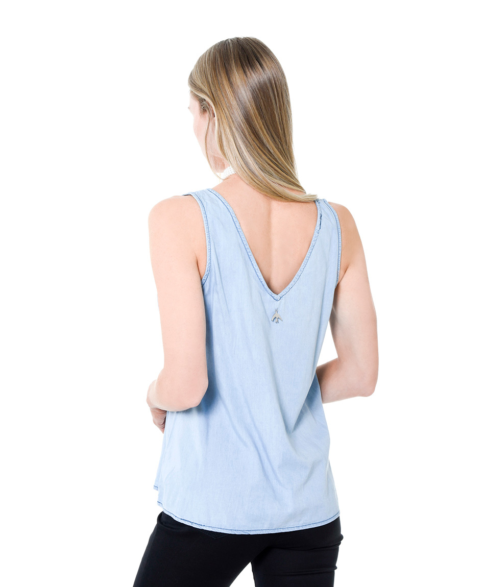 BLUSA LIGHT DENIM