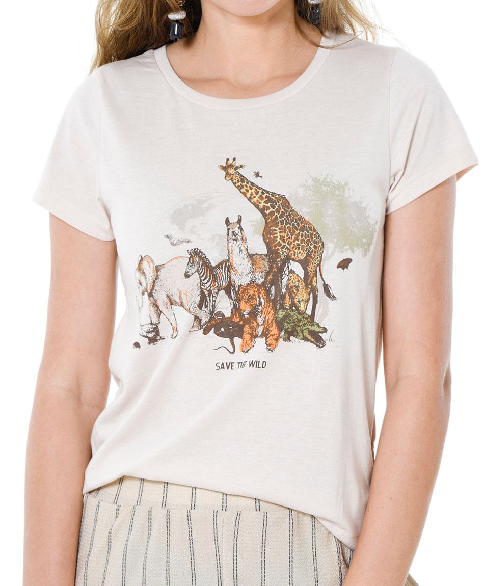 POLERA ANIMALES