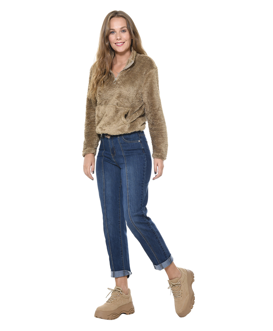 JEANS CORTE FRONTAL