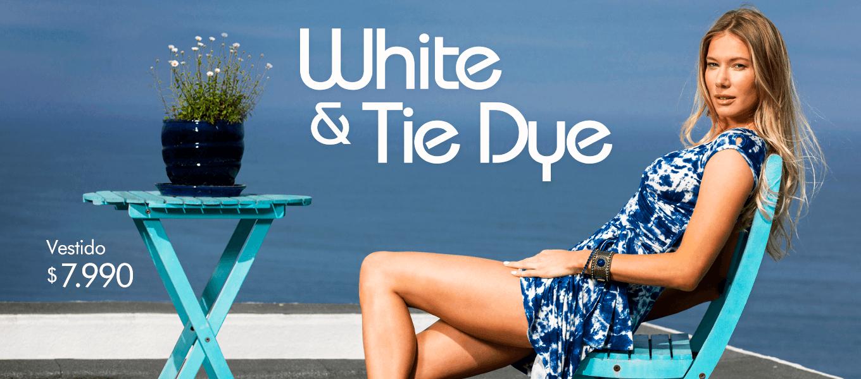 WHITE & TIE DYE